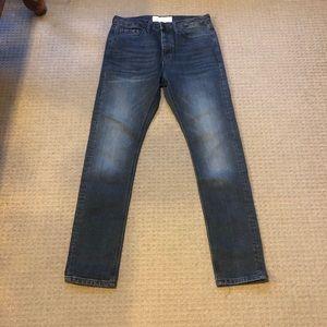 Topman stretch taper jeans